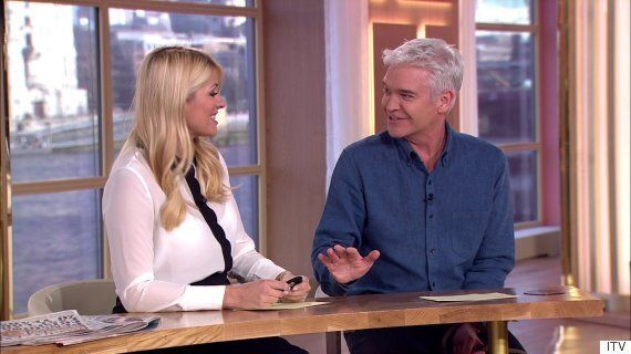 Phillip Schofield Reveals The Comical Way In Which He Injured His Knee As 'This Morning' Returns From...