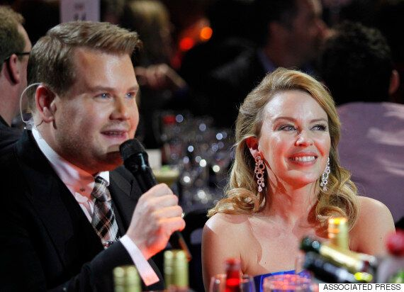 Kylie Minogue And James Corden Have Recorded A Duet For The Aussie Singer's Christmas Album. Yes,