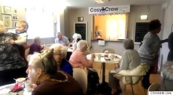 Cosy Crow Café In Gateshead Gives Pensioners Food That Would Have Been