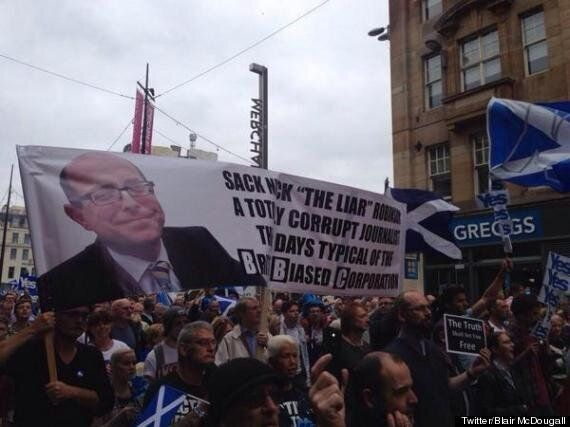 Alex Salmond Insists BBC Bias Affected Outcome Of Scottish Independence