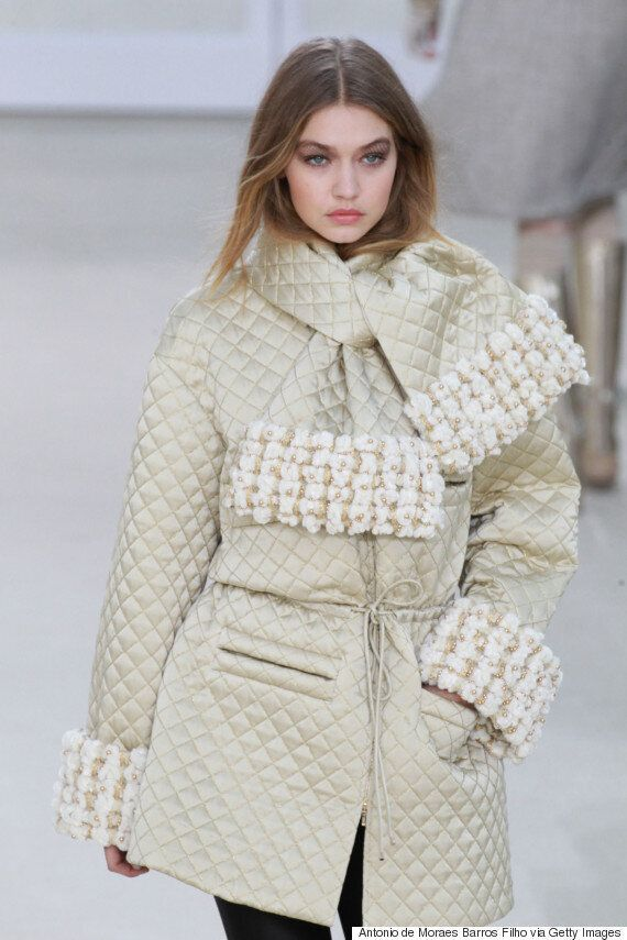 Kendall Jenner And Gigi Hadid Give Us Winter Coat Goals At Chanel