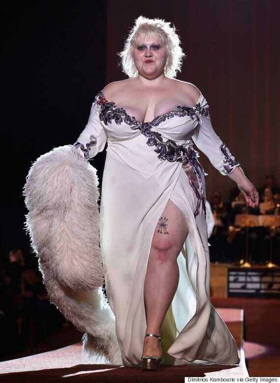 Beth Ditto Takes A Step For Plus-Size Models As She Closes New York Fashion Week At Marc Jacobs