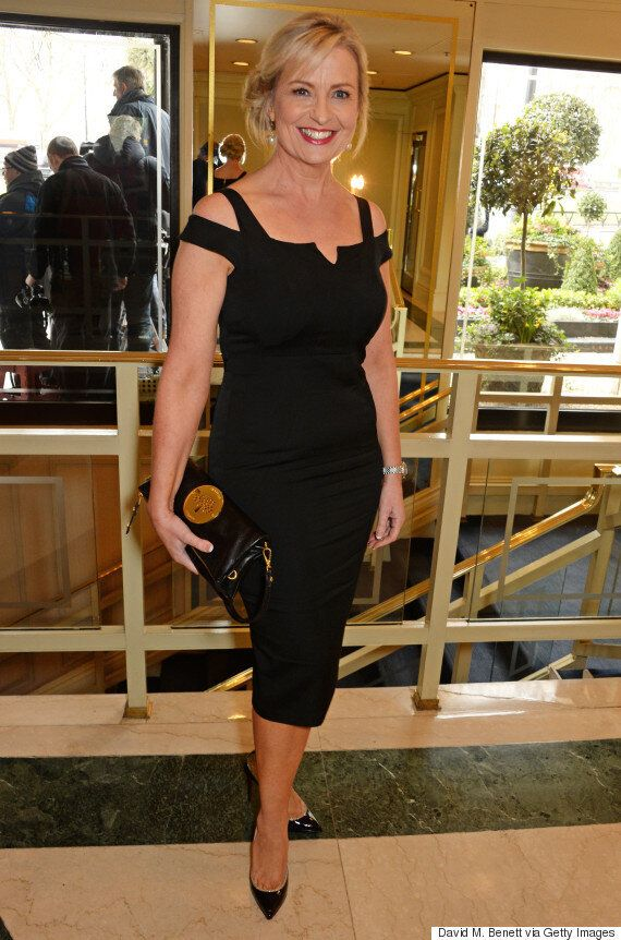 Carol Kirkwood Wins Best Weather Presenter For The FIFTH Year Running At The TRIC Awards