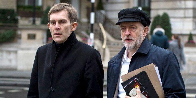 Seumas Milne with Jeremy