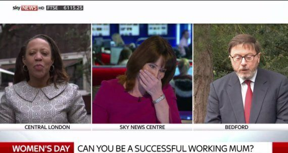 Kay Burley Perfectly Handles 'Men's Rights' Campaigner Mike Buchanan When He Calls Her