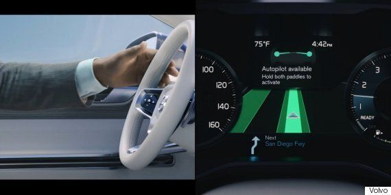 Volvo Unveils Self-Driving Car Concept At CES That'll Let You Watch Netflix On Your