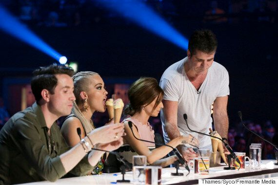 'X Factor' Auditions Descend Into Chaos As Judges Instigate Ice Cream Fight