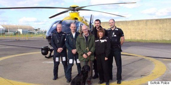 Dog Proves She Is Truly Man's Best Friend, Staying With Pensioner Trapped In Suffolk Bog For Seven