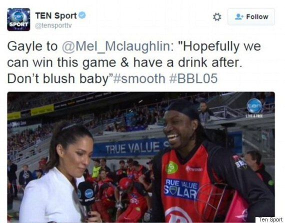 Chris Gayle Shuts Down Reporters Over Mel McLaughlin Proposition As Cricket Club Hits Him With £5K