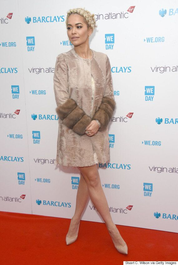 WE Day 2016: Rita Ora, Fleur East And Clive Owen Hit The Red Carpet