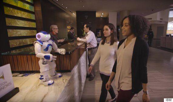 Hilton Unveil A Robot Concierge That's Powered By IBM's Watson