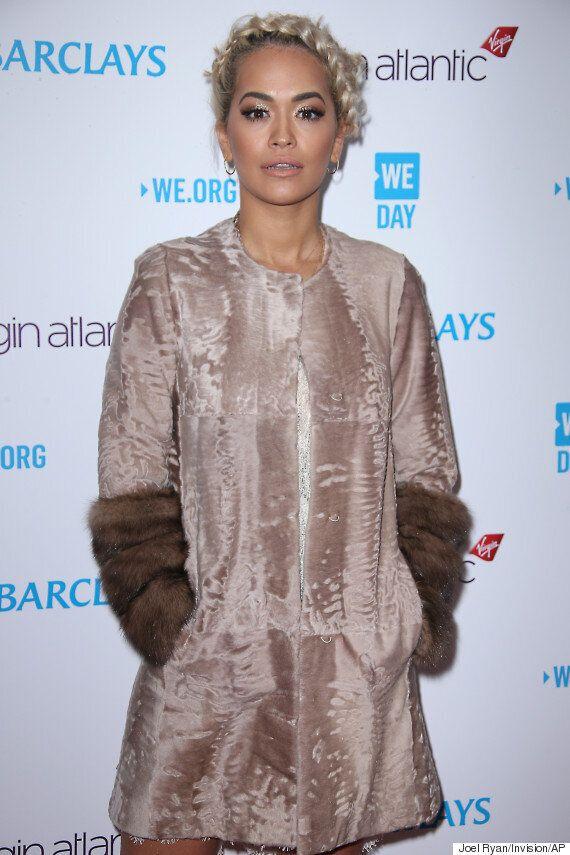 Rita Ora Goes Nude (Sartorially Speaking) At WE Day