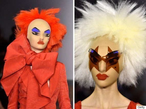 London Fashion Week Beauty Trend: Gareth Pugh Sees Spring 2016 As The Season Of Clown