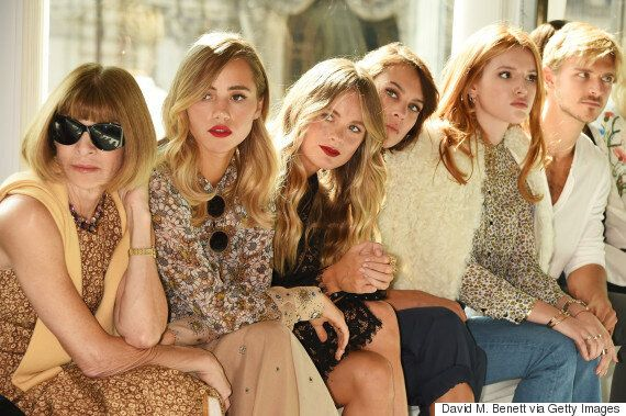 London Fashion Week: Topshop Unique Spring/Summer 16 FROW Will Give You Squad