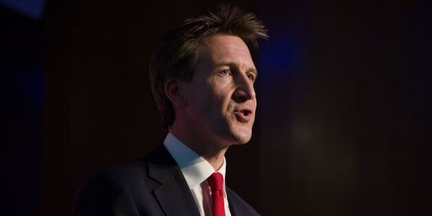 Dan Jarvis MP speaks during the Progress annual conference, at TUC Congress House, central