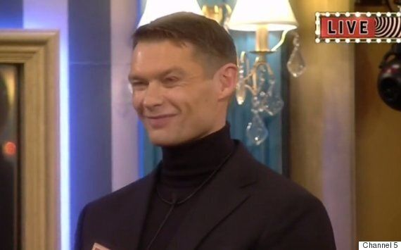'Celebrity Big Brother' Contestants Darren Day And John Partridge Spend Night 'Locked Away' In First...