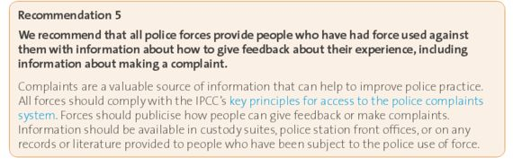 The Independent Police Complaints Commission: Living in a World of Tangerine Trees and Marmalade