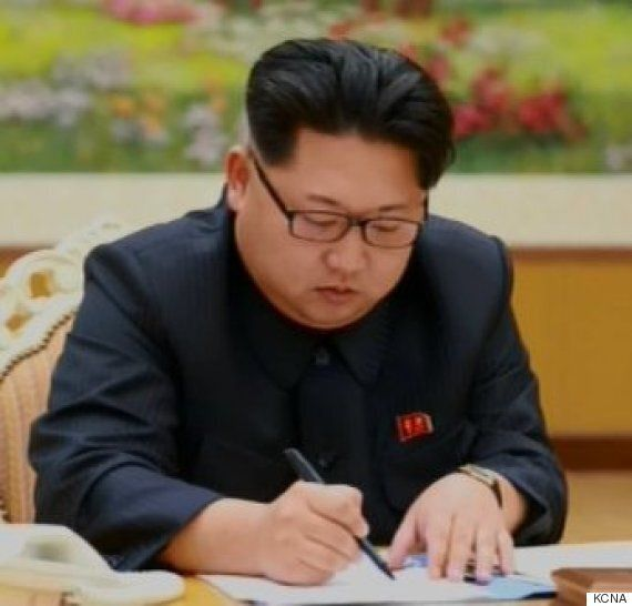 North Korea's Kim Jong-Un Seen 'Signing Order' For 'Successful Hydrogen Bomb