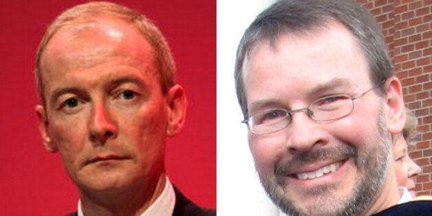 Left, Pat McFadden. Right, Pat