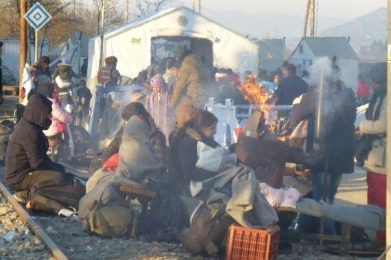 Refugee Health Crisis Hits Boiling Point at Greece-Macedonia