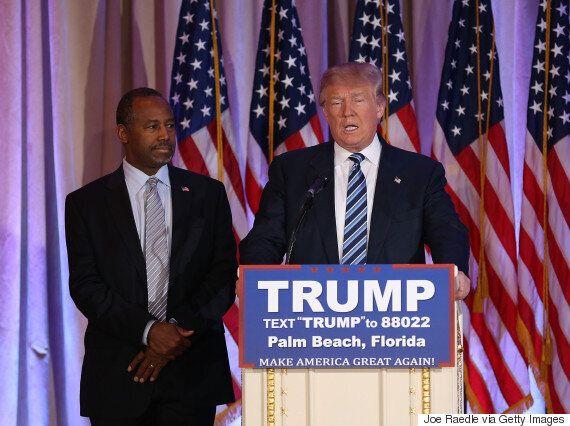Ben Carson Endorses Donald Trump Even Though The Tycoon Called Him