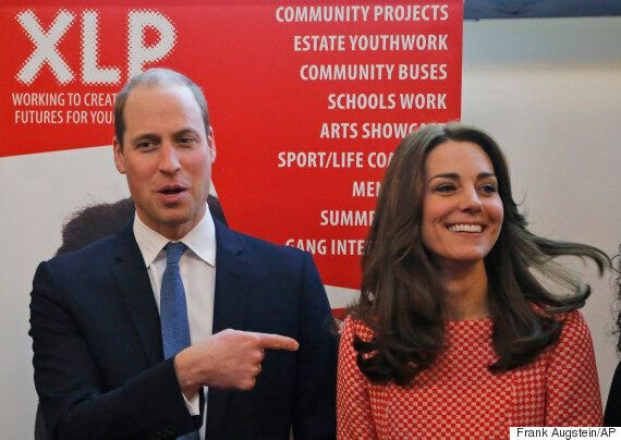 Kate Middleton, Duchess Of Cambridge, And Prince William Visit XLP Charity Helping Teens Reject Knife