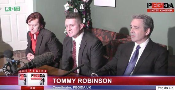 Tommy Robinson Arrested Days After Pegida UK Press Conference In 'Embarrassing Attempt to Disrupt Anti-Islam