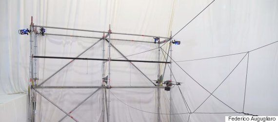 Quadcopter Drones Programmed To Build Rope Bridges Deliver Perfect Construction Without Human