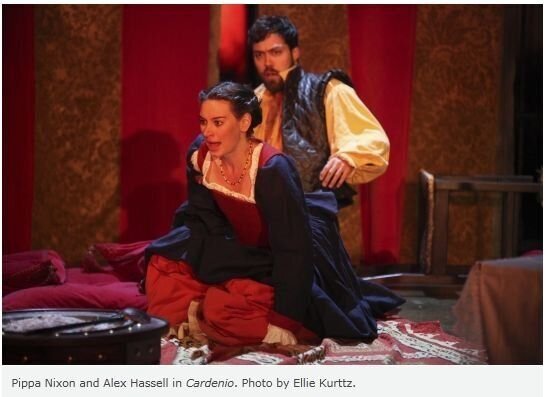 Review of the RSC's Cardenio: Shakespeare Lost and Found, or Fletcher