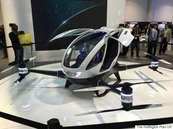 The EHang 184 Is A Giant Self-Driving Drone For