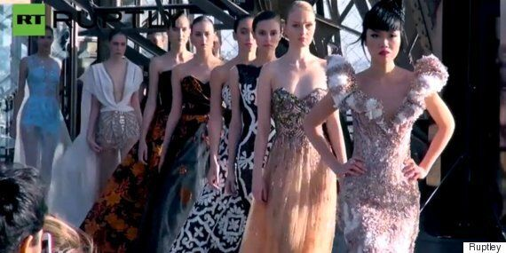 Crazy Fashion Week Catwalks Including Dresses Made Out Of Chocolate And Dramatic