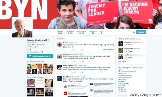 Jeremy Corbyn Favourites Embarrassing #PigGate Tweet Mentioning Diane