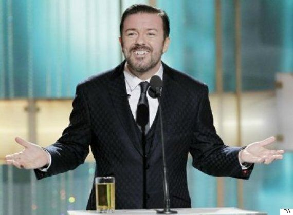 'Golden Globes' Host Ricky Gervais Explains Why He's Working For Viewers, Not A-List Guests In The