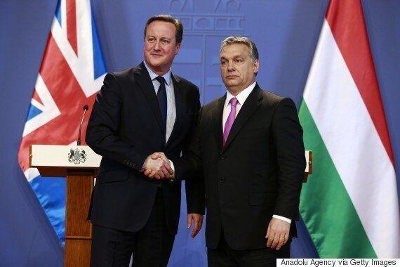 Viktor Orban Tells David Cameron Hungarians Are Not 'Parasites' On The British