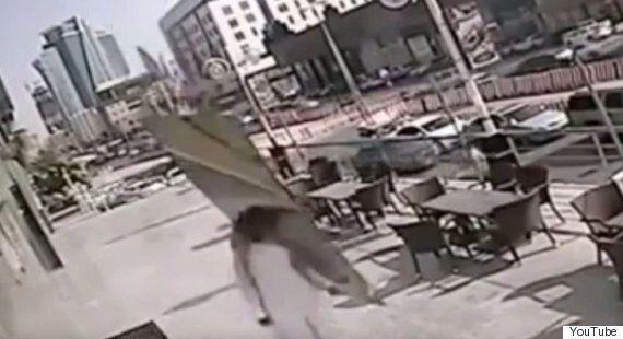 Man Hit By Falling Windowpane In Saudi Arabia Miraculously