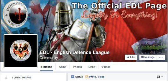 EDL: Campaign To Save New Leader Gets No Donations, As Facebook Page Has Just One