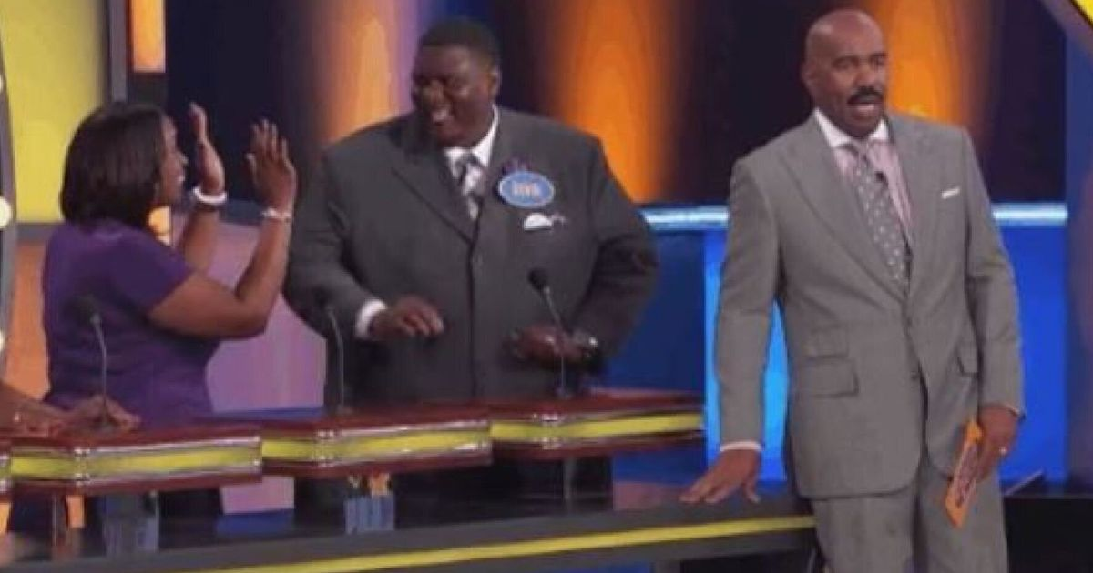 Steve Harvey Shocked By Funniest 'Family Feud' Answer Ever | HuffPost UK