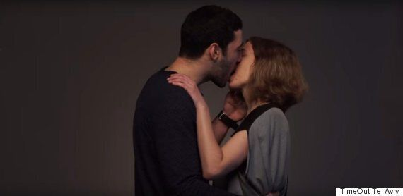 Israeli And Arab Couples Kiss In Moving Video To Show 'They'll Refuse To Be Enemies' After Book