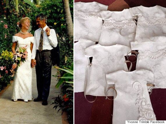 Donate Wedding Dress.Woman Donates Wedding Dress To Be Made Into Funeral Gowns
