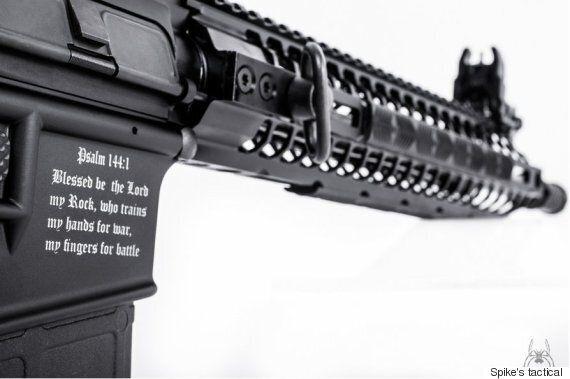 Crusader Assault Rifle With Biblical Verse 'Will Stop Muslim Terrorists Using It' Says Florida Gun