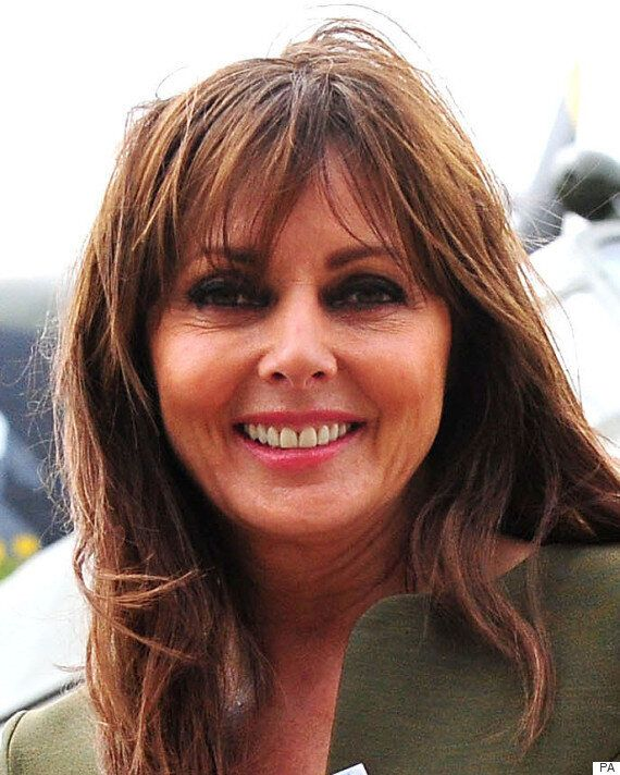 Carol Vorderman Credits Lewis Hamilton With Boosting Mother Jean's Spirits During Cancer