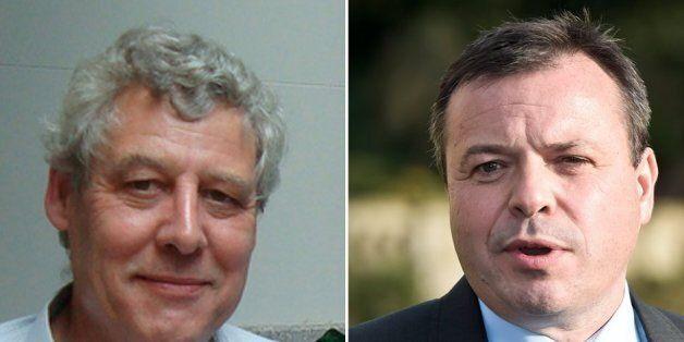 Dr Richard North, left, and Leave.EU's Arron