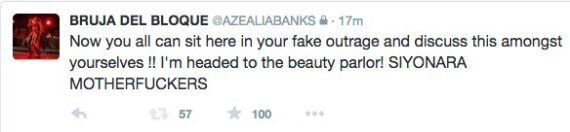 Azealia Banks Brands Flight Attendant A 'F***ing F***ot' As She Has Homophobic Meltdown On
