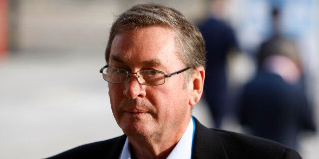 Britain's Conservative Party Deputy Chairman Lord Michael Ashcroft is seen at the Conservative Party...