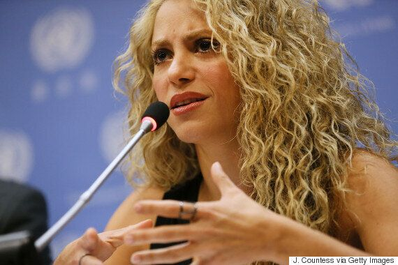 Shakira Meets With UN To Discuss Effects Of War On