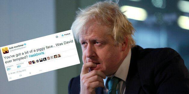Boris Johnson's Latest Twitter Q&A Was Just A Vehicle For #PigGate