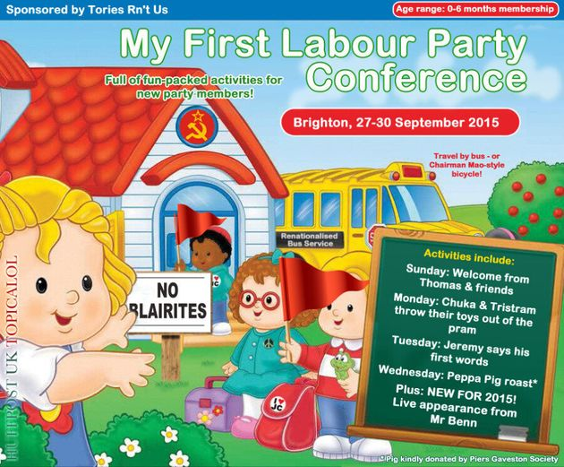 My First Labour Party Conference: In Stores