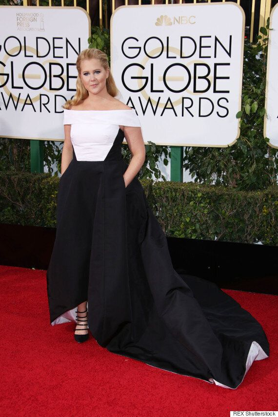 Golden Globes 2016: Jennifer Lawrence And Amy Schumer Hit The Red Carpet... But Forgo Matching