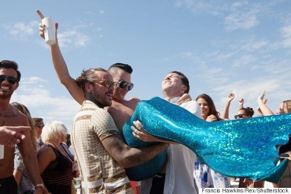 'The Only Way Is Essex': Bobby Norris Dons AMAZING Mermaid-Inspired Swimwear In Marbella