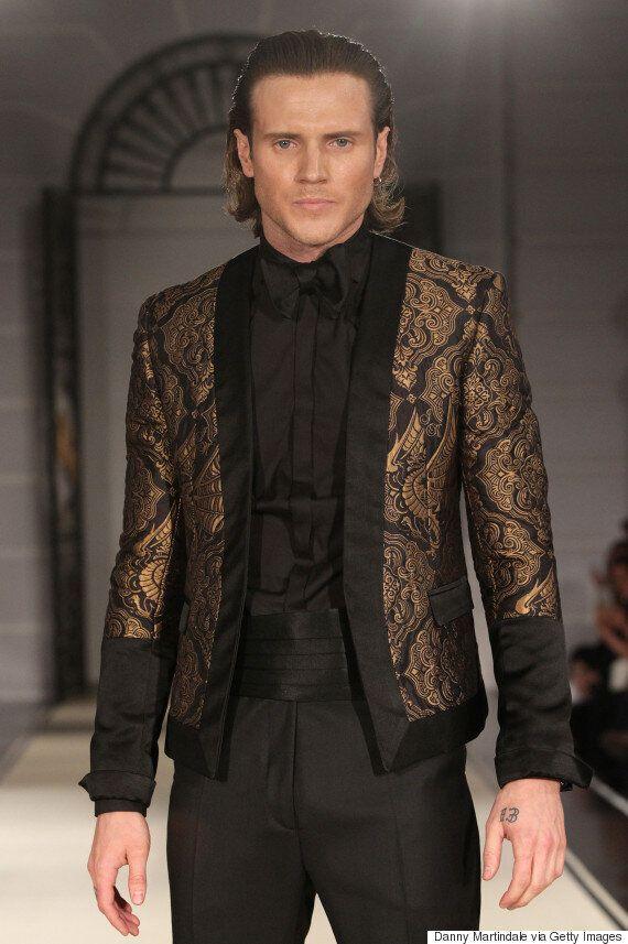 Dougie Poynter Makes His Catwalk Debut As He Models For Joshua